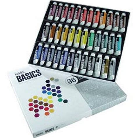 acrylic paint set kmart liquitex basics acrylic paint 22ml 36 pkg assorted colors