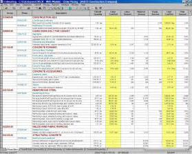 Home Construction Budget Worksheet Template   home