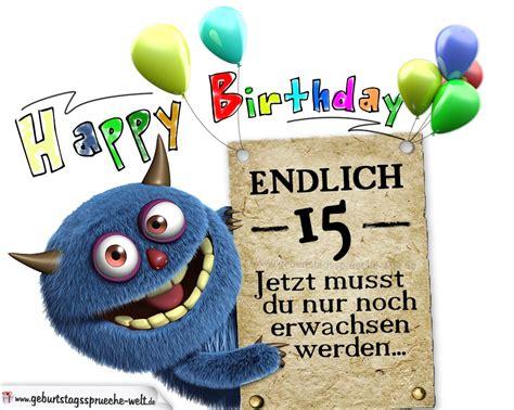 Lustige Geburtstagssprueche Zum 15 Geburtstag by Gl 252 Ckw 252 Nsche Zum 15 Geburtstag Lustig Erwachsen