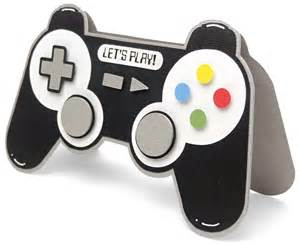game controller shaped card pazzles craft room
