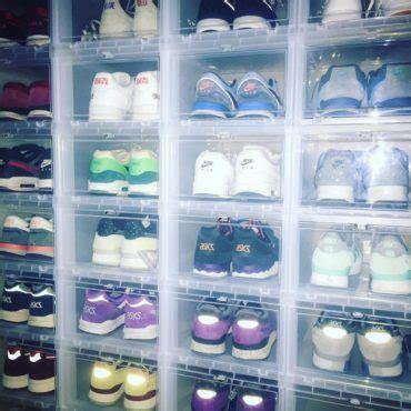 sneaker aufbewahrung so geht s richtig sneakerrelease de - Drop Front Schuh Boxen