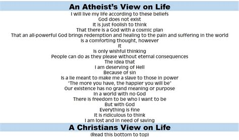 Atheist Vs Christian Meme - atheist vs christian view for god s glory alone ministries