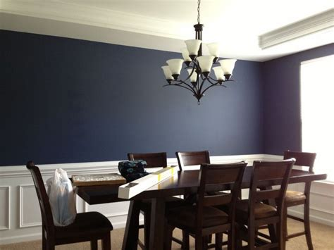 dining room wainscoting dream home pinterest navy dining room navy blue dining room for the home
