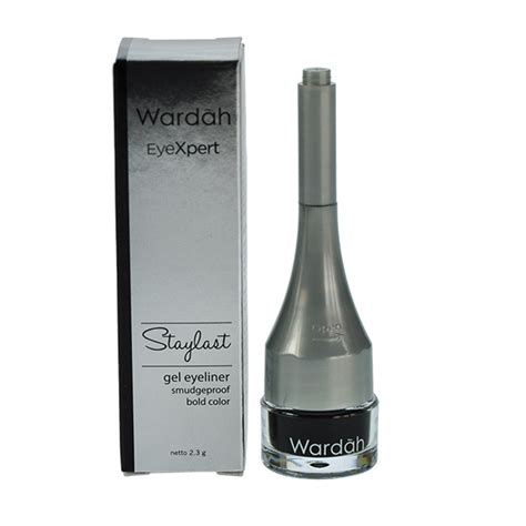 Review Dan Wardah Eyeliner Gel jual wardah eyexpert staylast gel eyeliner 2 3gr