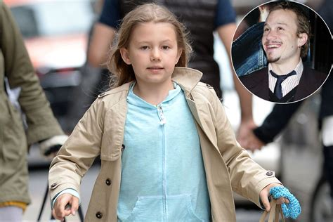 Heath Ledgers Matilda Will Be Taken Care Of by Heath Ledger S Matilda Takes After Late