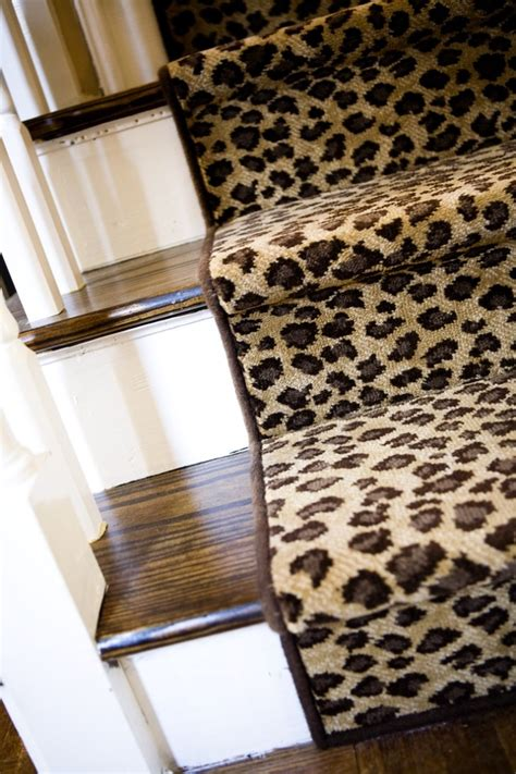 Leopard Runner Rug Stair Leopard Stair Runner Runner Rug Black Stair Runner Cheetah Stair Runner Stairs