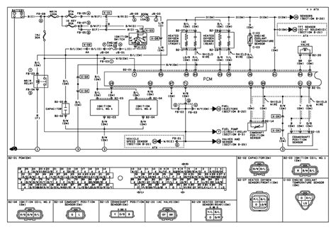 mazda protege 2 0 engine wiring diagrams repair wiring
