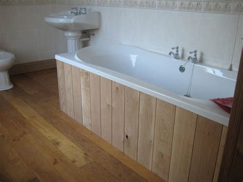 remodel a bathroom with wooden bath panels best house design