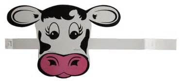 Animal Toilet Paper Holder cow print party supplies and favors