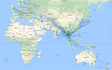 batik air route map airline insight thai airways international blue swan daily