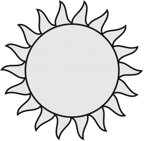 Sun Black Outline by Sun Pictures Clip Tumundograficopng Sun Outline Clip Png Photo Images Free Clipart
