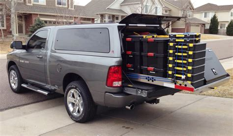 highway products truck roller coaster slide out cargo tray 4 000 pound capacity in auto