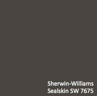 Sherwin Williams Sealskin (SW 7675)   HGTV HOME? by