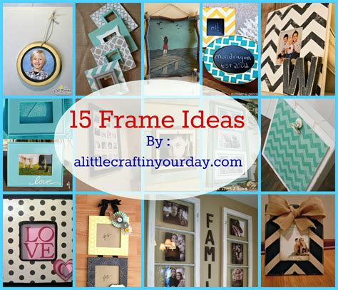 ideas pictures 14 photo frame ideas a little craft in your day