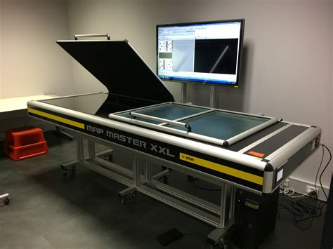 large bed scanner the ds me sma map master now named the versascan as