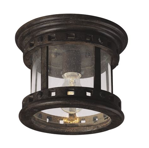 Outdoor Ceiling Lighting Santa Barbara Cast 1 Light Outdoor Ceiling Mount Outdoor Flush Mount Maxim Lighting