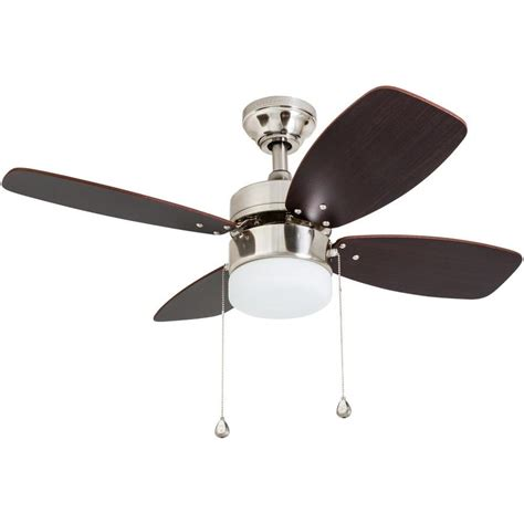 36 outdoor ceiling fan shop harbor riverview 36 in brushed nickel indoor