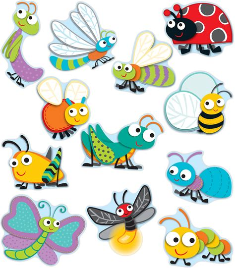 Buggy For Bugs Cut Outs Grade Pk 8 Carson Dellosa Publishing | buggy for bugs cut outs grade pk 8