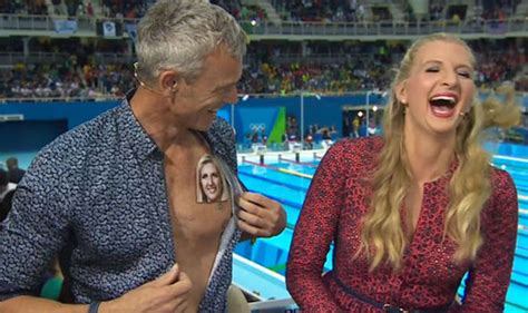 mark foster fuels rebecca adlington romance claims with