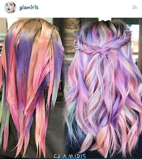 unicorn hair unicorn hair gorgeous hair pastel