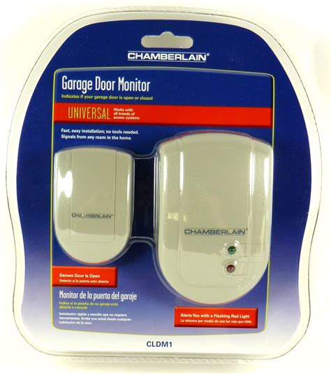 chamberlain universal garage door monitor chamberlain cldm1 universal garage door monitor indicates