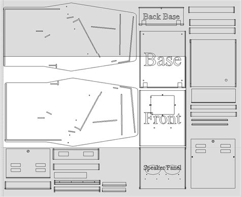size arcade cabinet plans 2016 q1 q2 update arcade cabinets