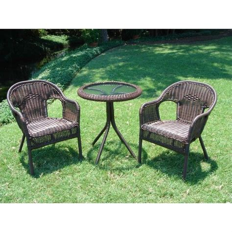 patio furniture 3 set 3 outdoor patio bistro set 3186 xx