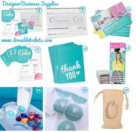 Origami Supplies - origami owl designer business supplies http
