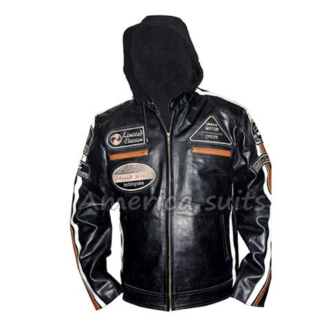 Harley Davidson Time Bry Leather harley davidson leather jacket vintage style