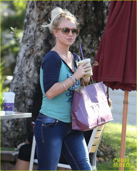 Britneys Babies Seem To Be Forgotten by Coffee Bean Stop With The Boys Photo