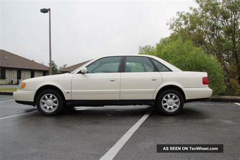 auto air conditioning service 1996 audi a6 transmission control 1996 audi a6 quattro base sedan 4 door 2 8l