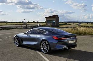 Bmw Future Bmw Concept 8 Series Heralds Production Version S Arrival