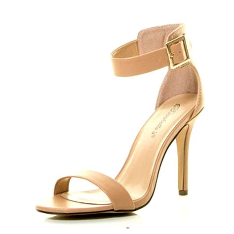 white stiletto high heels new breckelle womens high heel stiletto sandal shoes