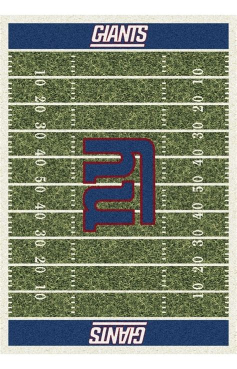 milliken nfl home field new york giants rug