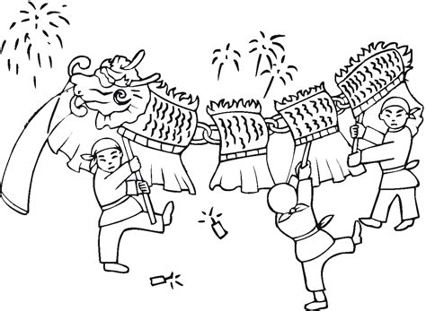 coloring pages of chinese new year free printable chinese dragon coloring pages for kids