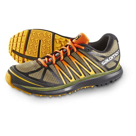salomon x tour trail running shoes salomon city trail x tour running shoes green black