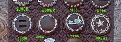 ricky green saddles brown iron conchos