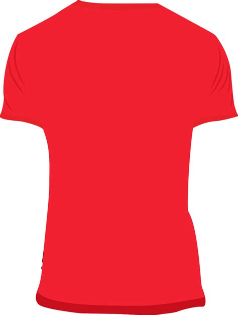 red t shirt template joy studio design gallery best design