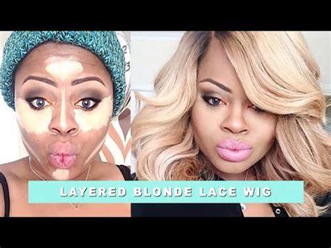 blonde bob youtube edee s new blonde bob wig youtube