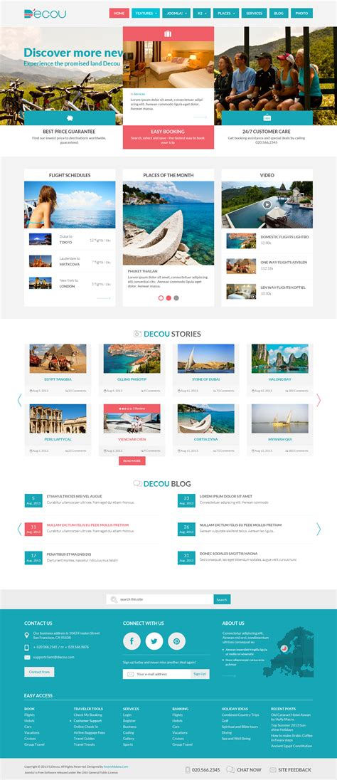 tutorial k2 joomla 3 sj decou travel template with k2 joomla themes on