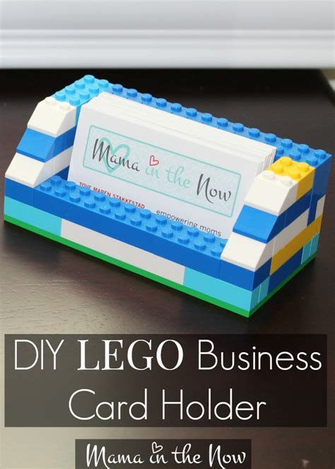 Lego Gift Card Holder - diy lego business card holder