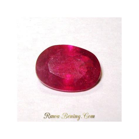 Batu Permata Prana Bunga Mawar batu permata safir orange merah mawar 3 94 carat oval cut