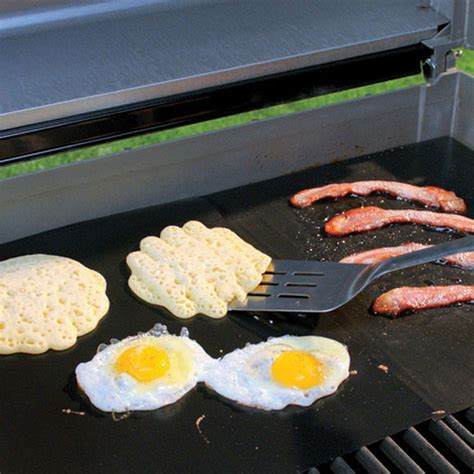 What Are Grill Mats Made Of by Miracle Grill Non Stick Grilling And Baking Mat For Cooking