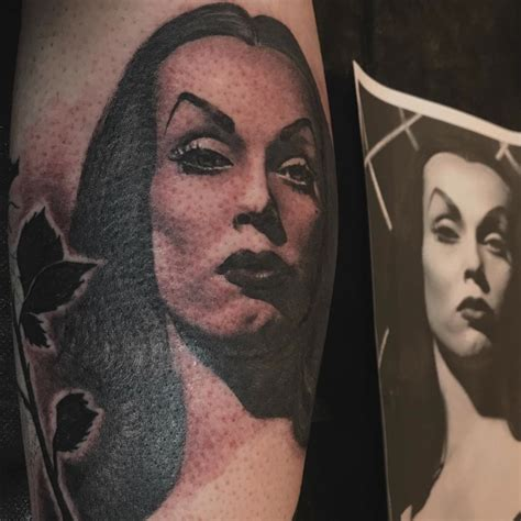 kat von d portrait tattoo vira goddess of the by d