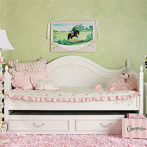 girls day bed shabby posh rose daybed bedding and nursery kid sets in