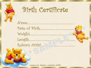 Birth certificate certificates 4 reborn fake baby approx 7 quot x 5 quot ebay