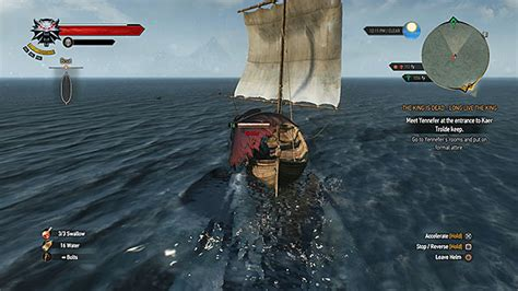 witcher 3 how to use boats horse ride and swimming the witcher 3 wild hunt game