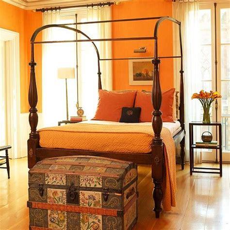 Orange Bedroom Walls by Best 25 Orange Rooms Ideas On Orange Walls