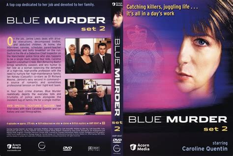 Set 2in1 blue murder set 1 tv dvd scanned covers blue murder set 2 dvd covers