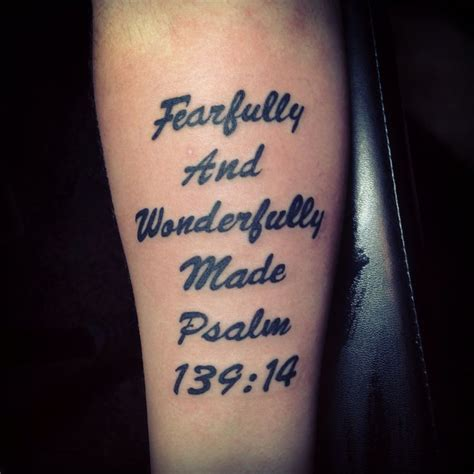 tattoo related bible verses bible verse tattoo psalm 139 14 tattoos pinterest